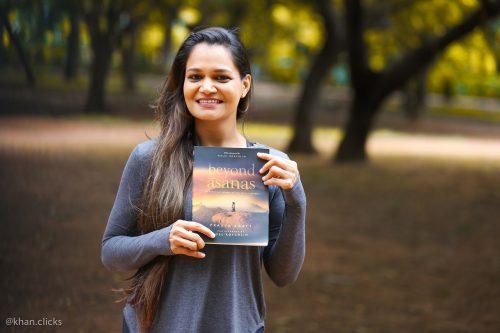Pragya Bhatt Holding Her Book Beyond Asanas